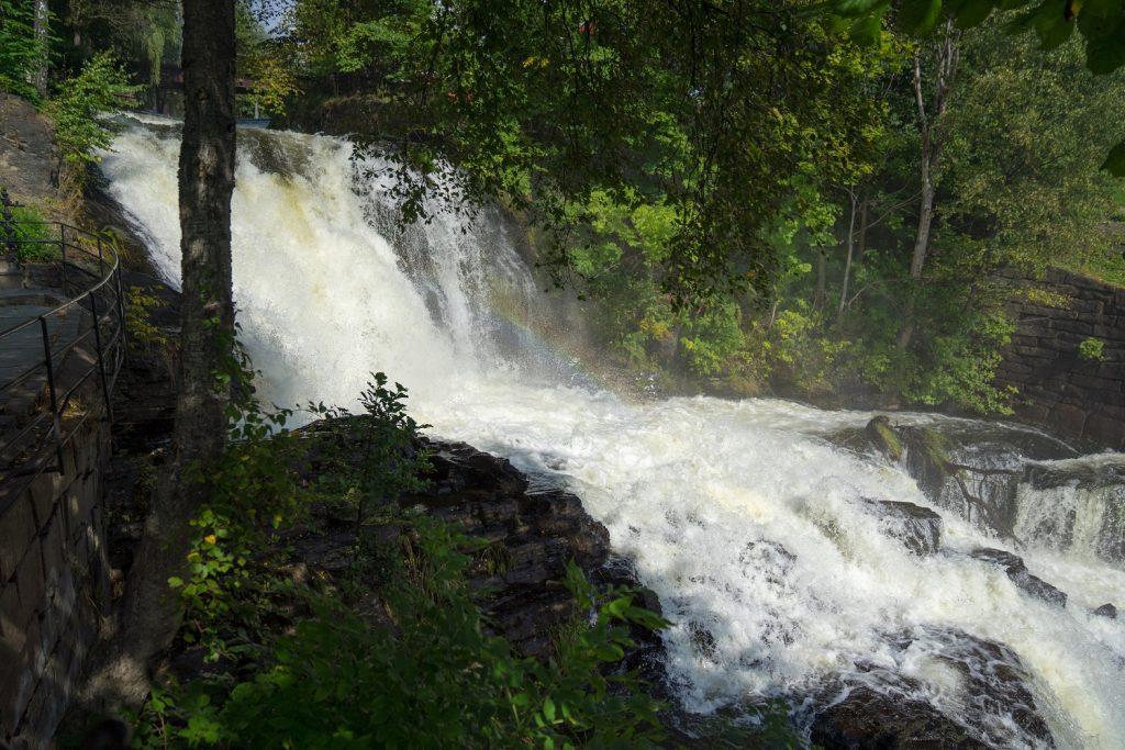 Oslo Wasserfall 2