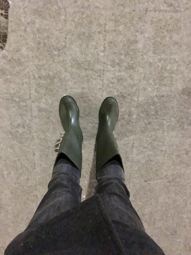 Dunlop Gummistiefel Schnee