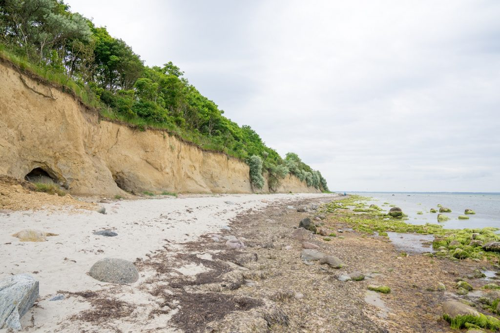 Insel Poel Strand Steilküste