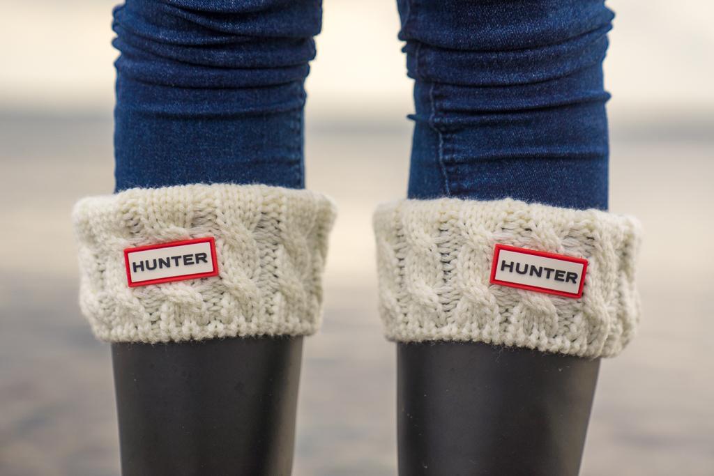 Gummistiefel Hunter Socken Winter 2