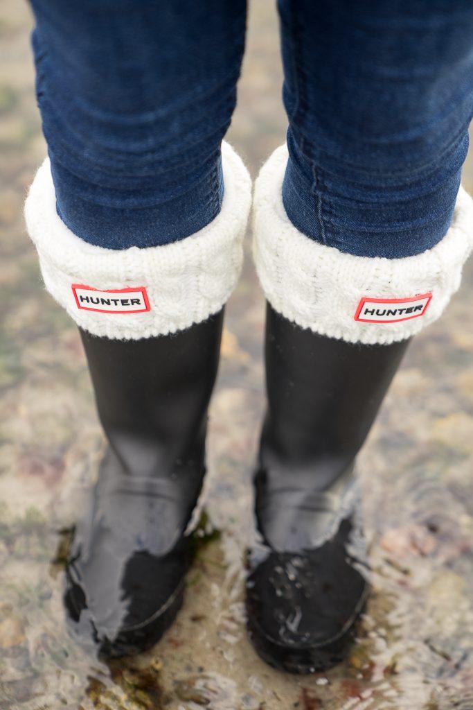 Hunter Gummistiefel Socken Winter