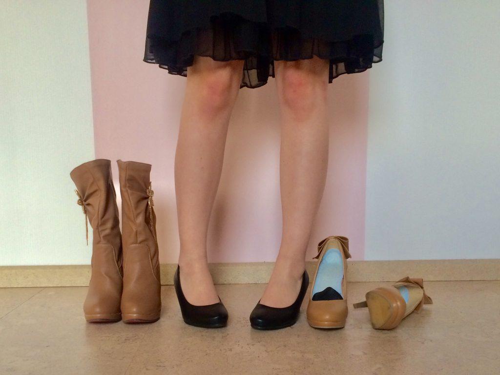 Stiefel Pumps Untergröße