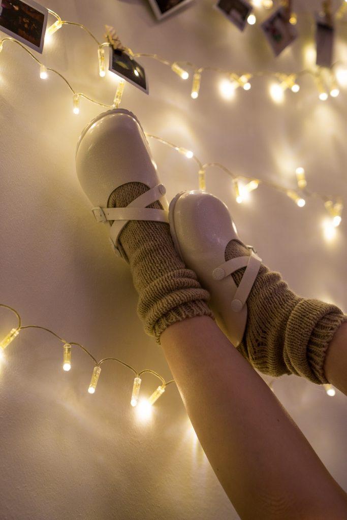Birkenstock Dorian Socken Lichterkette