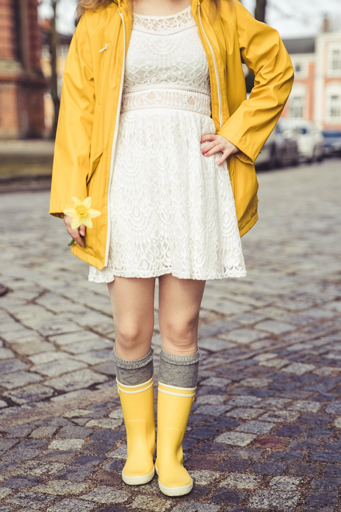 Gummistiefel Frühling Aigle Outfit