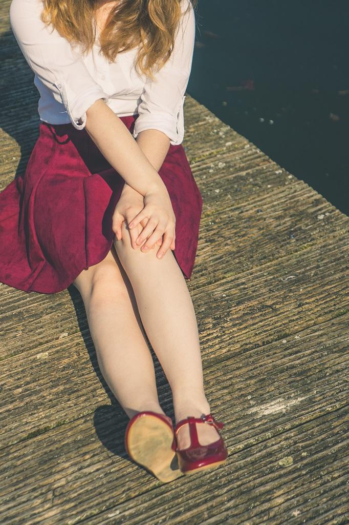 Ballerinas Zara Hafen 4