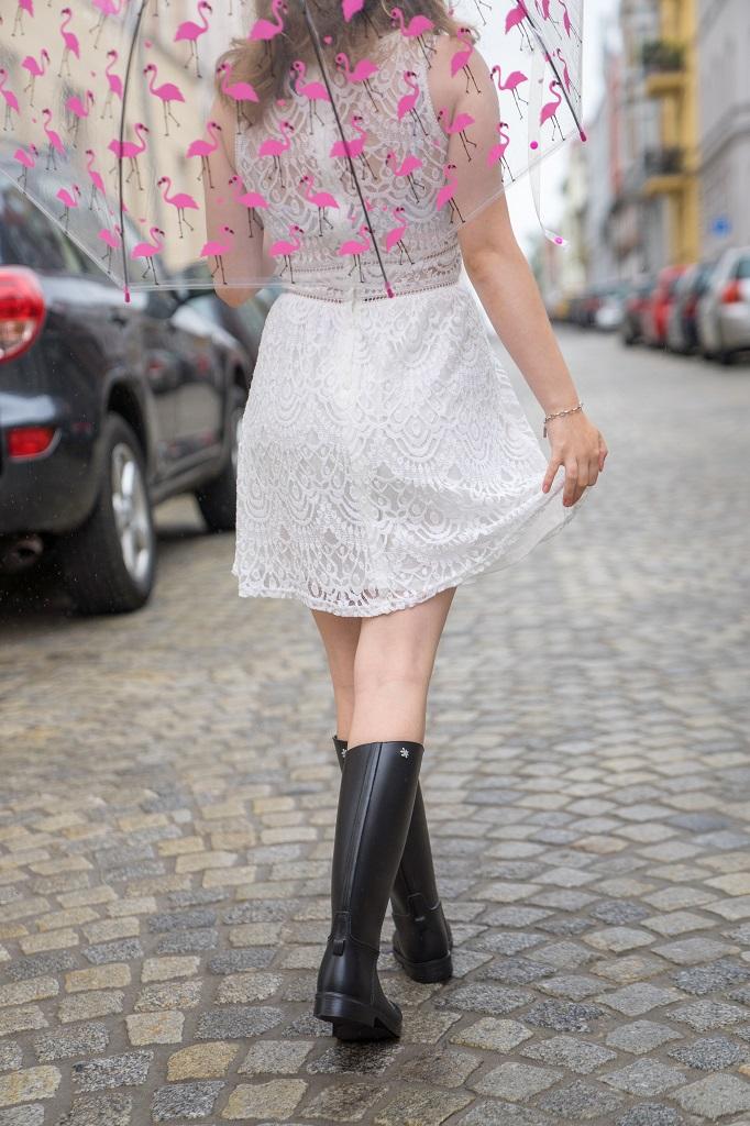 Meduse Gummistiefel Kleid 2