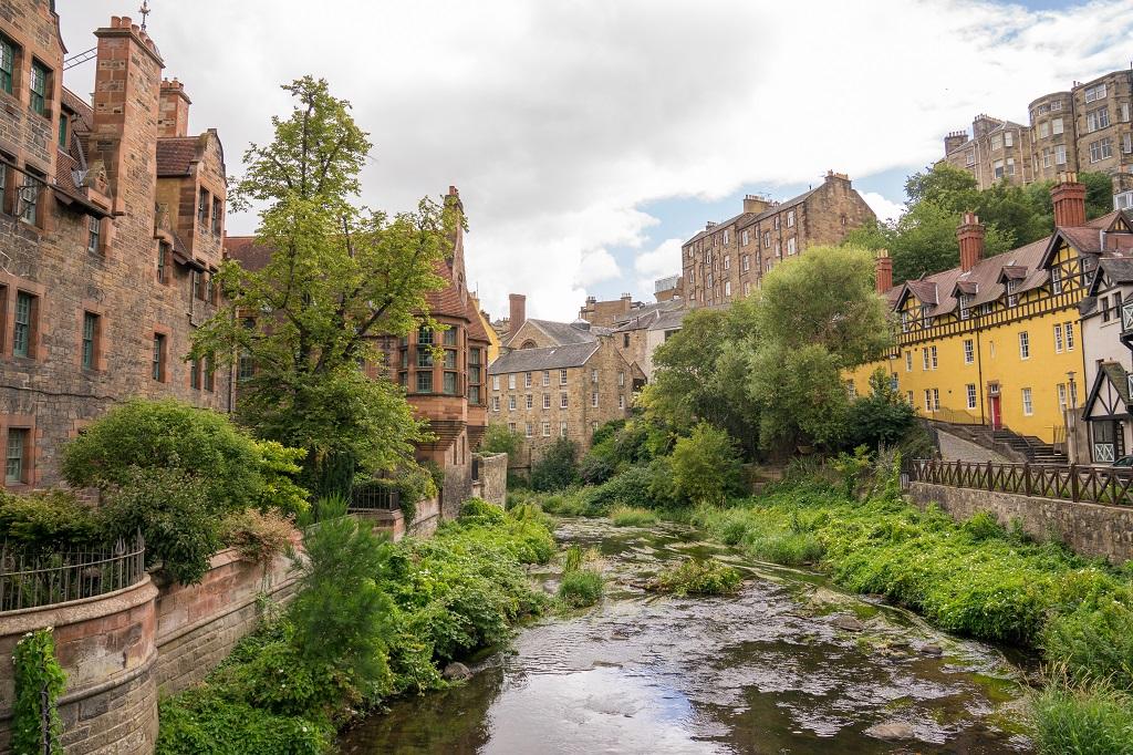 Schottland Edinburgh Dean Village 2