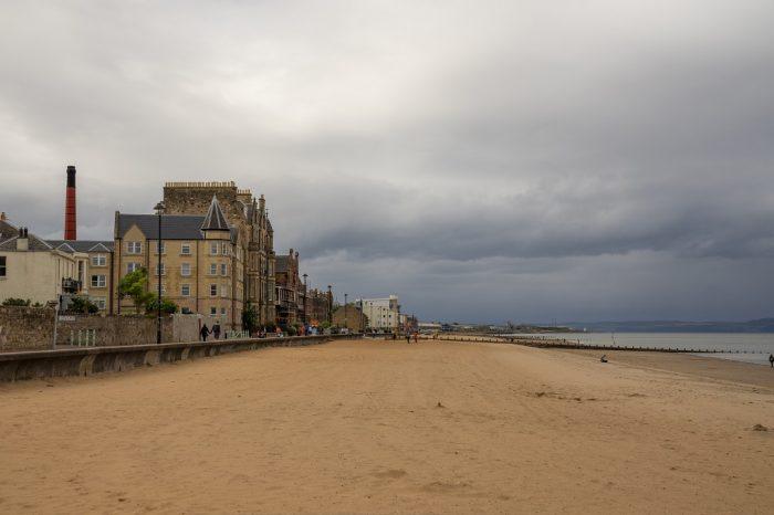 Schottland Edinburgh Portobello Beach
