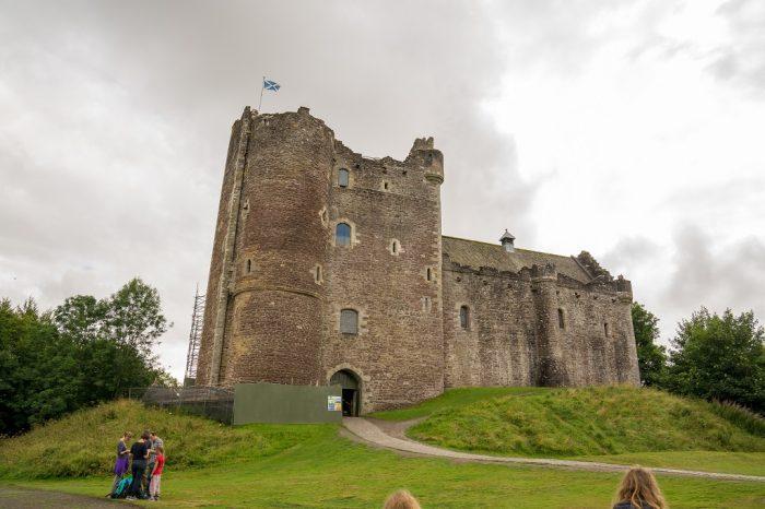 Schottland Highlands Doune Castle