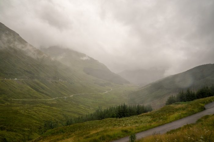 Schottland Highlands Rest and be thankful