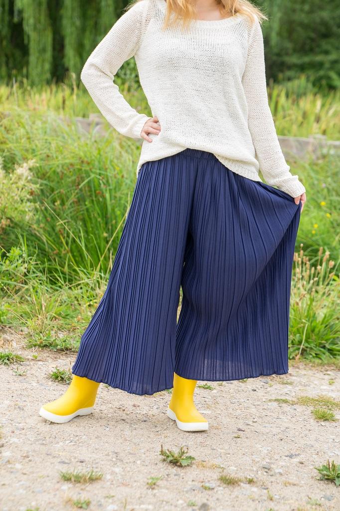 Zara Gummistiefel Outfit Herbst 1