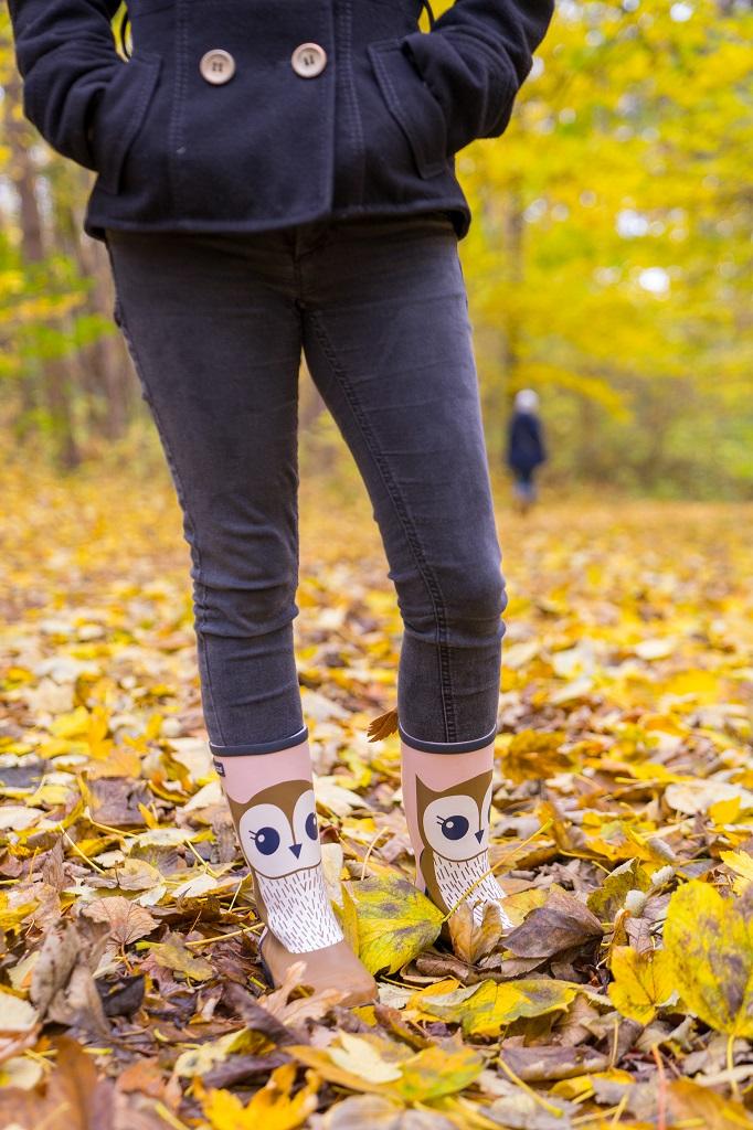 Aigle Woody Pop Fun Eule Wald Herbst