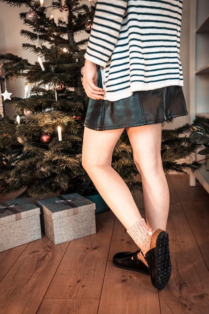 Birkenstock Boston Socken Weihnachten 2