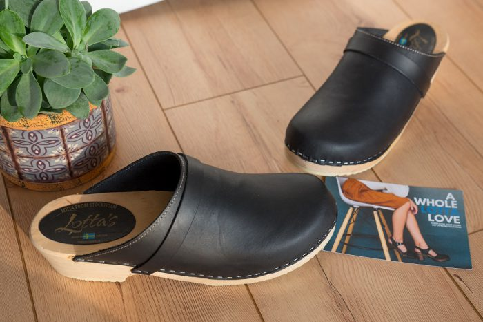 Holzclogs Lotta from Stockholm Clogs 8