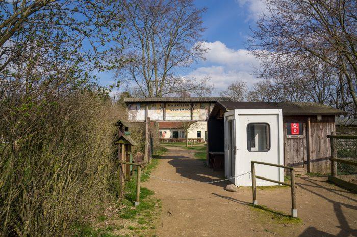 Haustierpark Lelkendorf Eingang