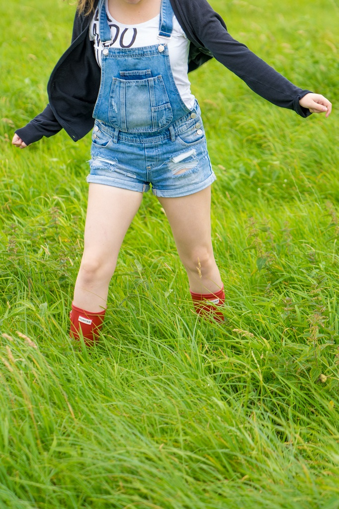 Hunter Gummistiefel Latzhose Countrystyle Outfit Landlook 2