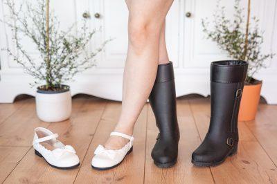 Schuhe in Untergrößen Japan Rakuten Gummistiefel Ballerinas