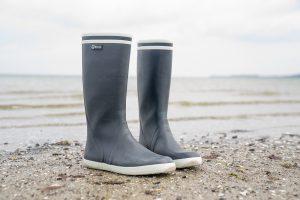 Aigle Goeland Gummistiefel Strand Meer Ostsee