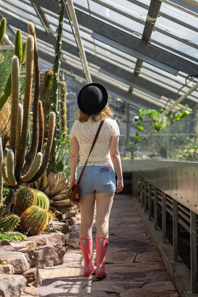 Dänemark Kopenhagen Botanischer Garten Hunter Gummistiefel