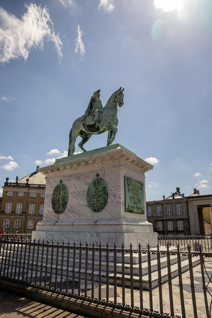 Dänemark Kopenhagen Deer Park Amalienborg Palace