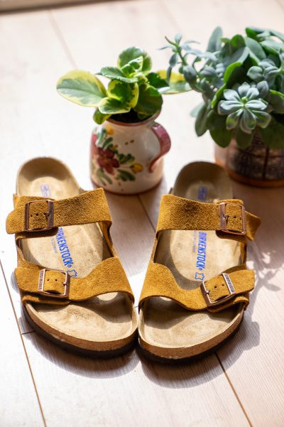 Birkenstock Softfootbed Arizona Wildleder 1