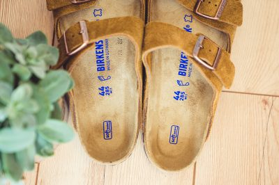 Birkenstock Softfootbed Arizona Wildleder 2