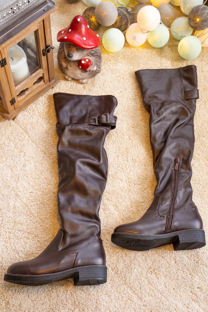 Overkneestiefel Schuhe Untergröße Ebay 2