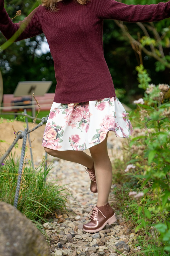 Melissa Mel Stellar Gummistiefeletten Outfit Herbst
