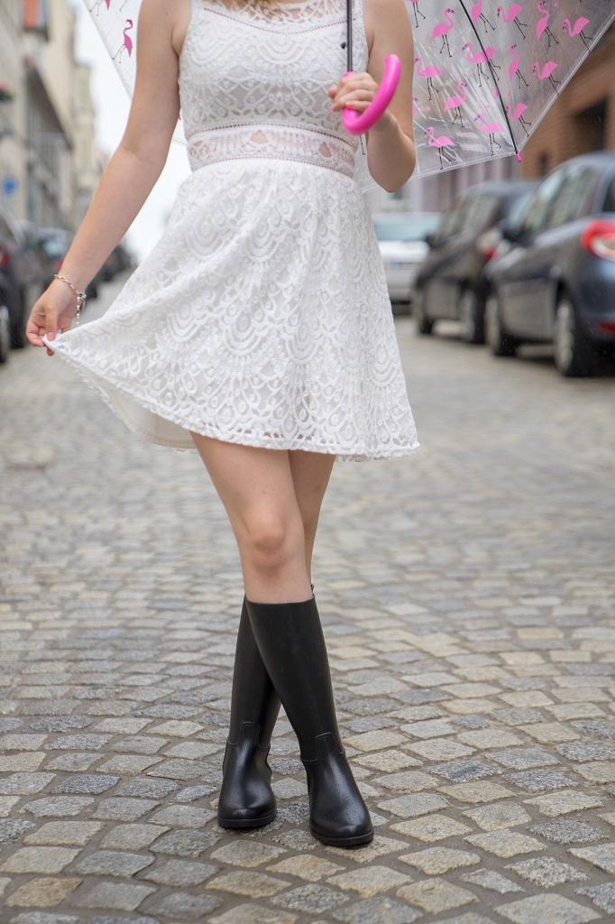 Reitstiefel Outfit richtig kombinieren Gummireitstiefel