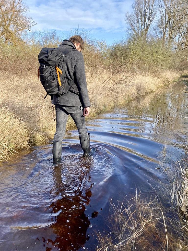 Barbour Bede Gummistiefel Test Wandern Priwall 3