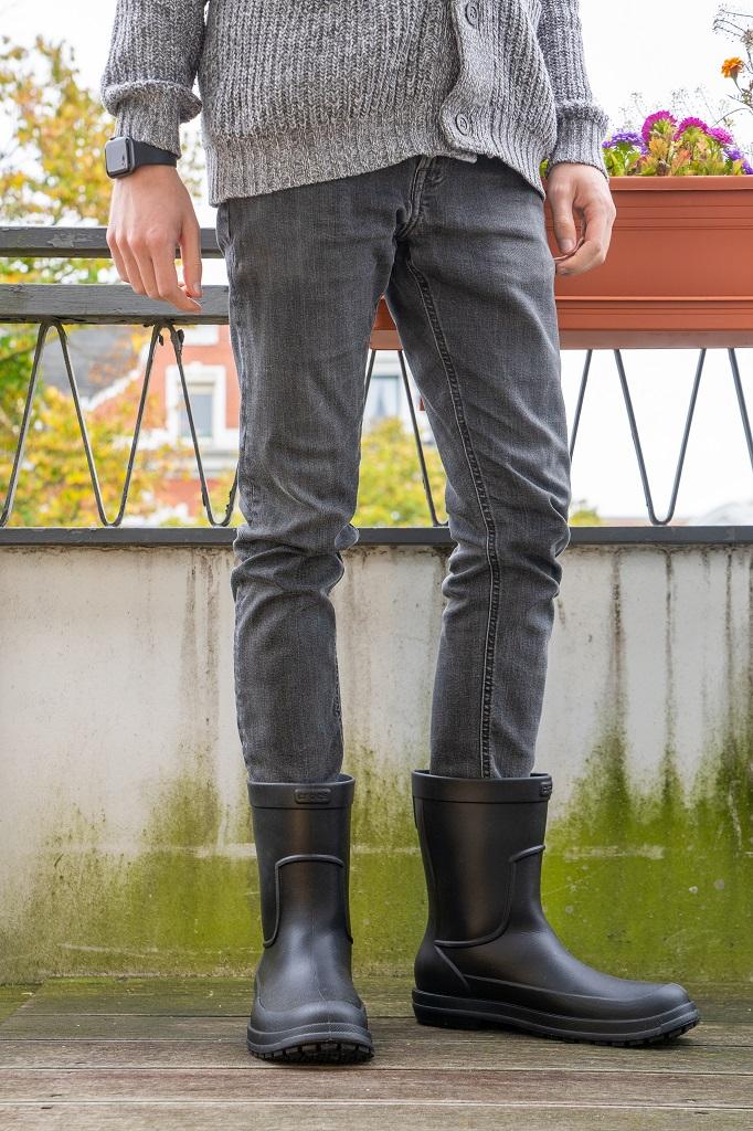 Crocs Allcast Rain Boot Gummistiefel Tragefoto