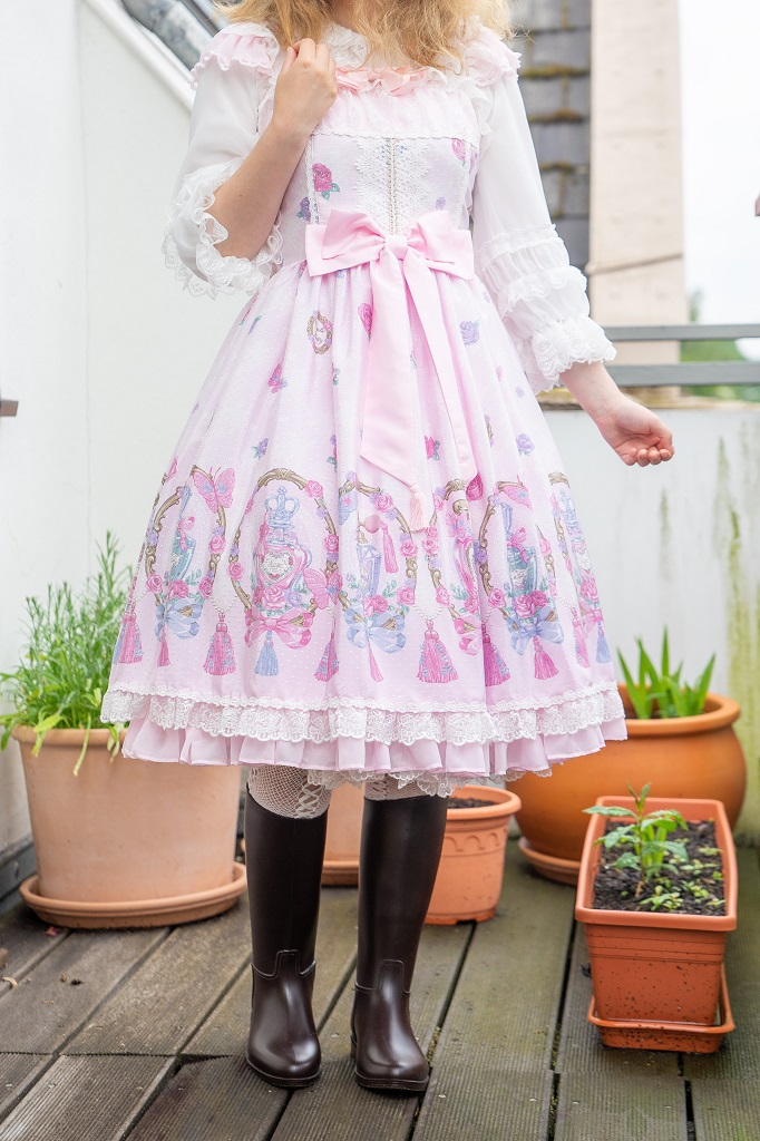 Méduse Gummistiefel Angelic Pretty Lolita Kleid Regen