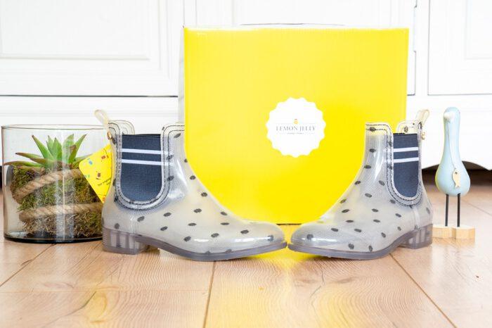 Lemon Jelly Liz 01 Gummistiefeletten durchsichtig