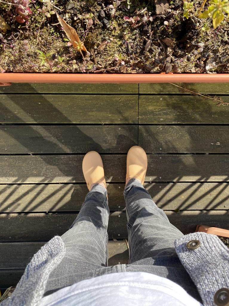 Sandgrens Clogs Malmö Holzclogs Balkon Garten Hausschuh