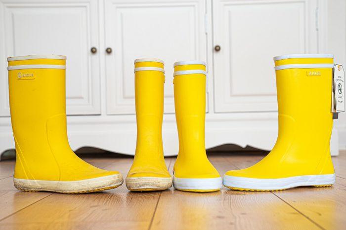 Aigle Lolly Pop Gelb Nachhaltigkeit Alt Neu