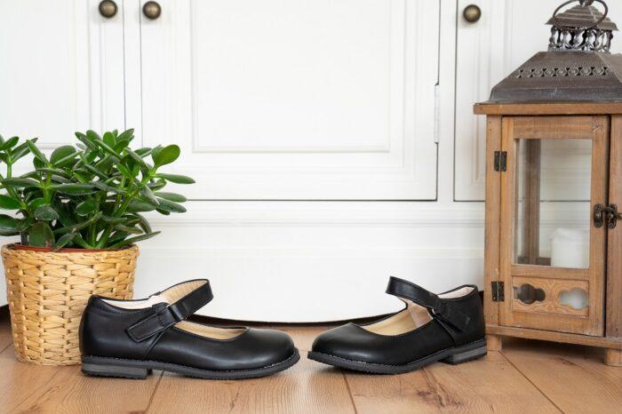 Flache Mary Jane Schuhe Untergröße