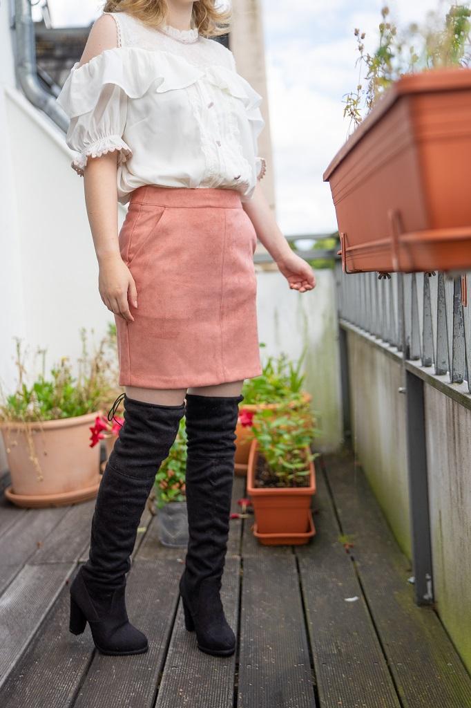 Overknees Herbst 2020 Outfit Liz Lisa
