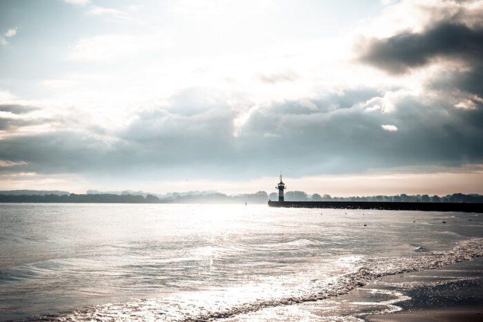 Travemünde Strand Leuchtturm