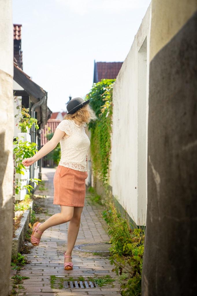 meandmyClogs Annika Outfit Holzclogs Sandalen