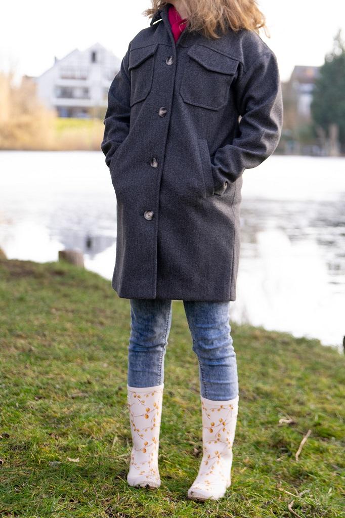 Bisgaard Fashion Gummistiefel Blumenmuster Frühling