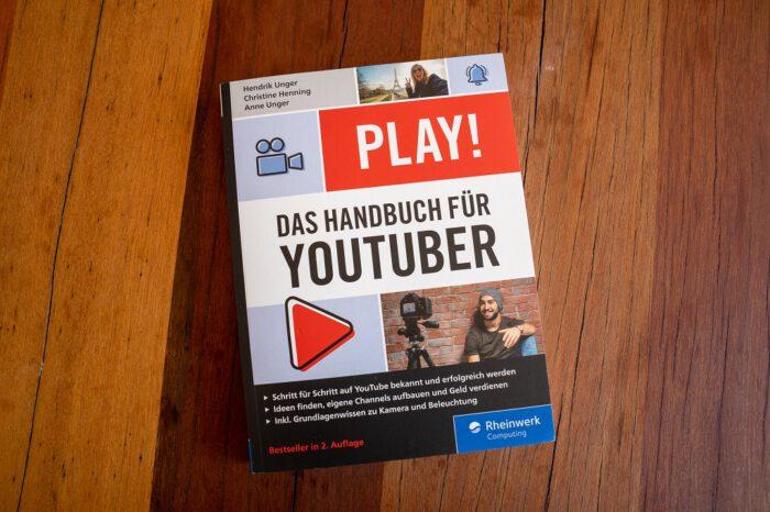 Blog Buch Tipps PLAY! Das Handbuch für Youtuber