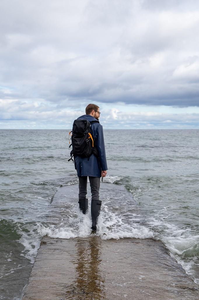 Gummistiefel richtig trocknen Ostsee