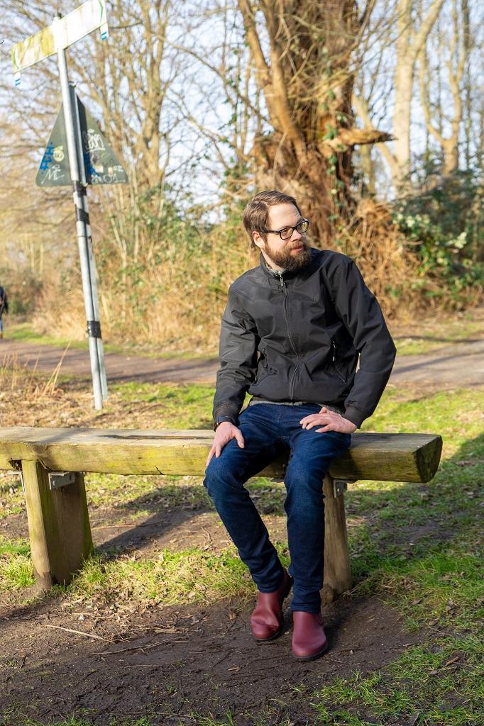 Hunter Chelsea Boots Refined Gummistiefeletten Herren