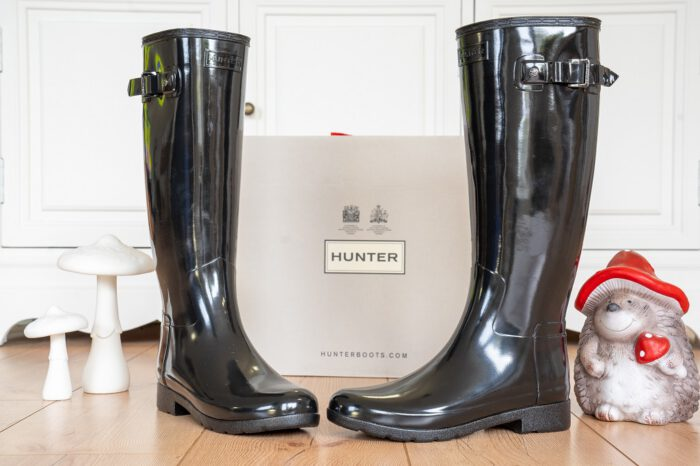 Hunter Refined Gloss Gummistiefel
