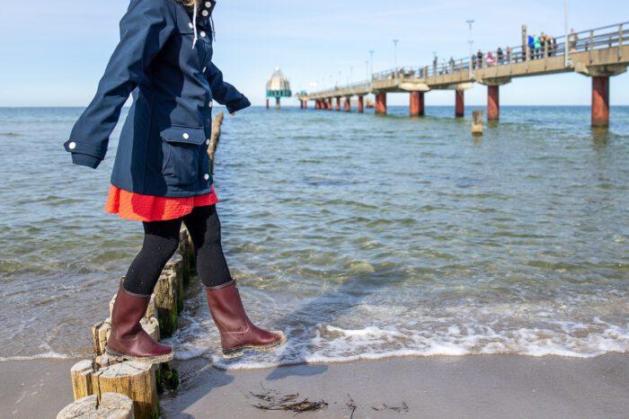Le Chameau Wandergummistiefel Kinder Strand