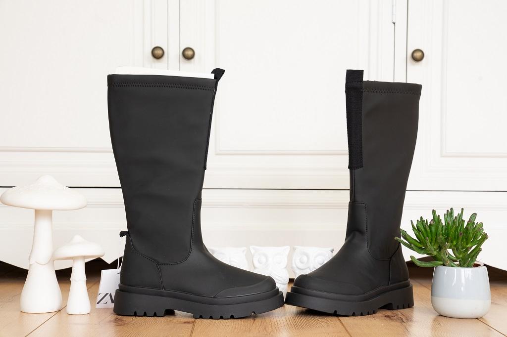Chunky Boots Gummistiefel Zara Titelbild
