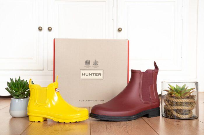 Hunter Chelsea Boots Gummistiefeletten Titelbild
