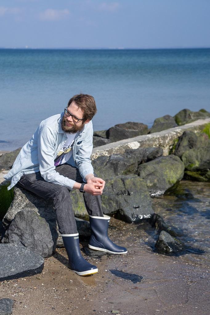 Viking Gummistiefel Herren Strand