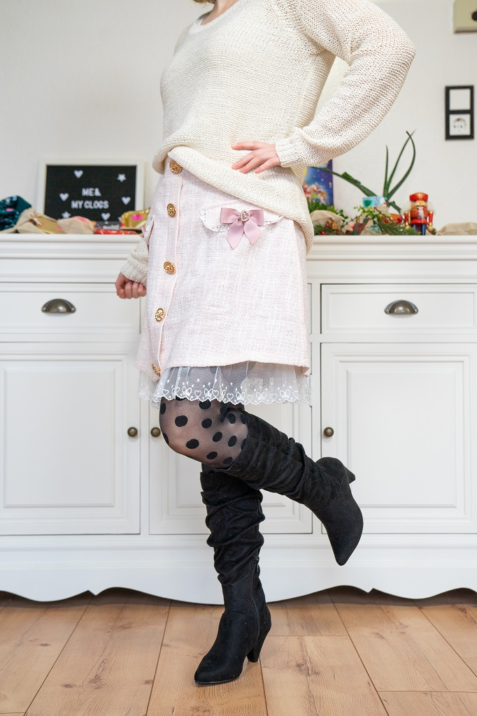 Andypola Slouchy Boots Outfit Liz Lisa