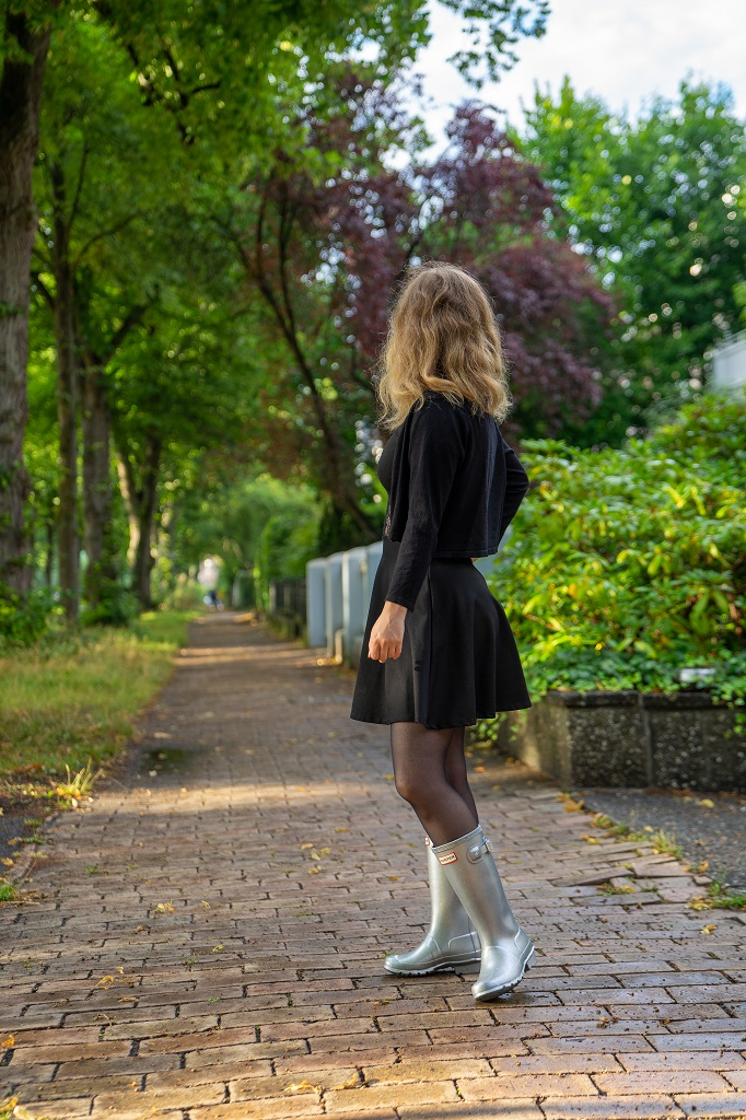 Elegante Gummistiefel Hunter Damen Kleid
